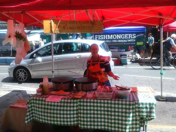 Chatsworth Road Market в Лондоне