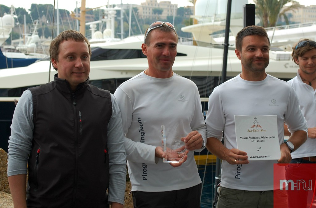 Второе место Monaco Melges 20 Winter Series