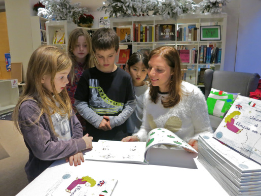Master-class in the Snowflake book store