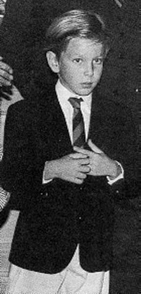 Young Andrea Casiraghi