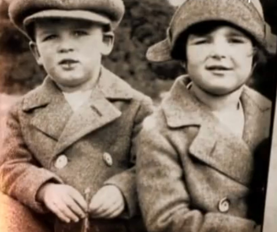 Prince Rainier III in the childhood