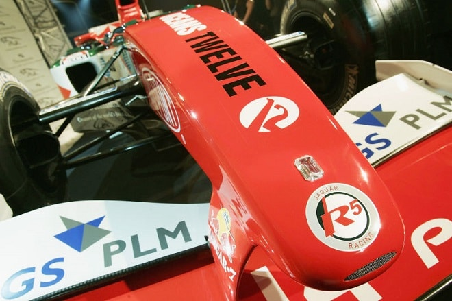 diamonds from Steinmetz collection on the racing car