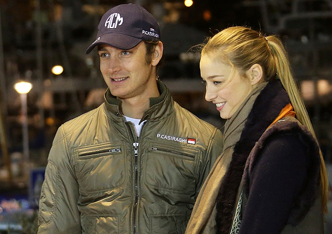 Pierre Casiraghi with Beatrice