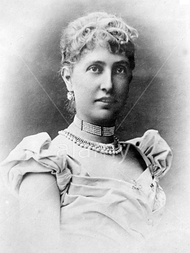 Princess Alice, accused of adultery