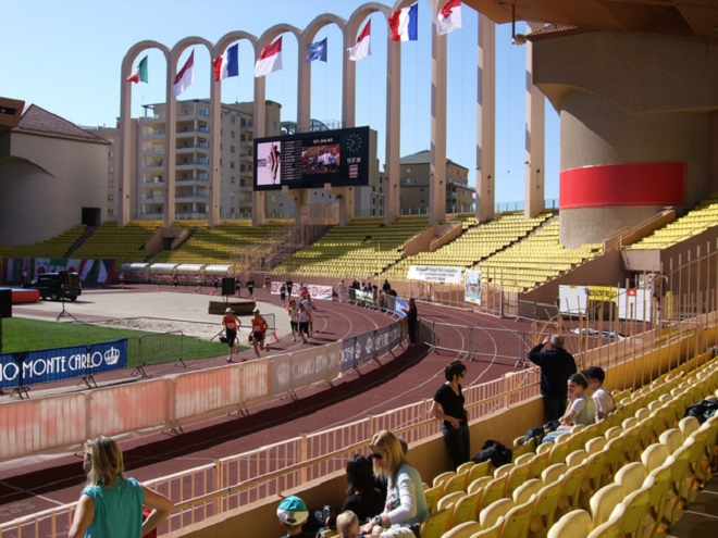 Stade Prince Louis II today