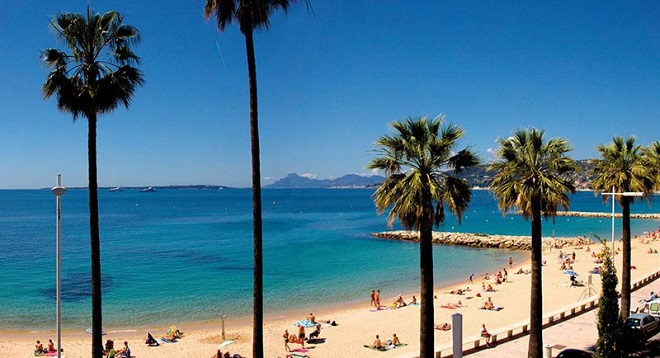 Juan-les-Pins Beach, Antibes, French Riviera