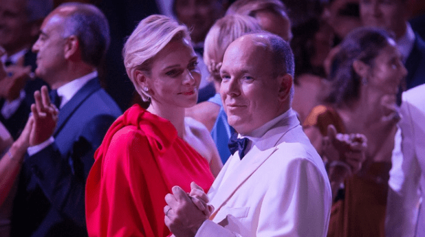 Red Cross Ball- Prince Albert and Princesse Charlene