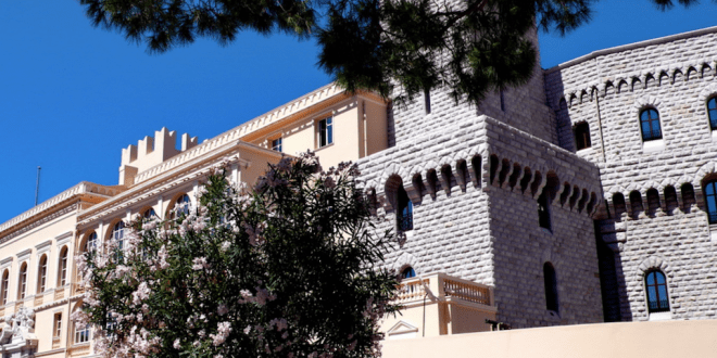 Facade of the Palace of the Prince of Monaco