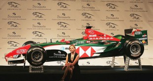 Jaguar Racing car with the diamond