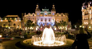 Monte Carlo Casino by night