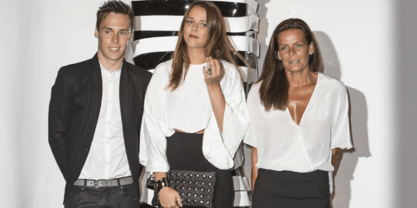 Princess Stephanie's children: Pauline and Louis Ducruet