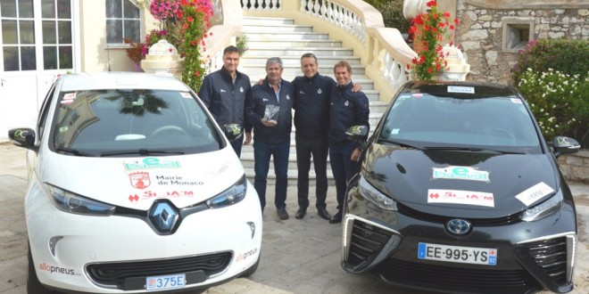 E-Rally Monaco- the winners