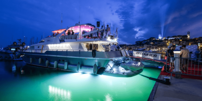 Corporate charter of the yacht