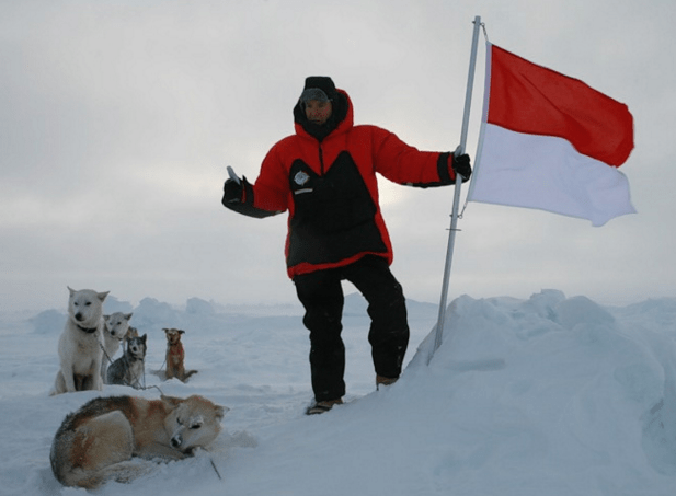 Prince Albert II is the first monarch to have reached the North pole in person