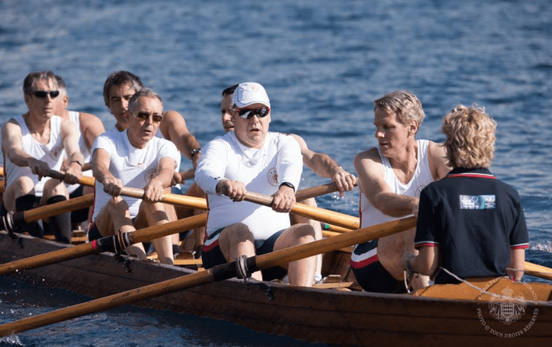 World Sea Rowing Championships- Prince Albert II