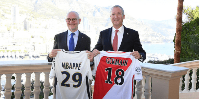 convention As MOnaco with the Government of Monaco