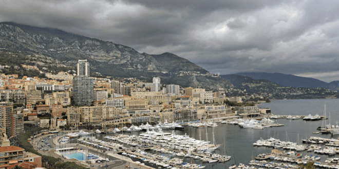 Stormy weather on the French Riviera