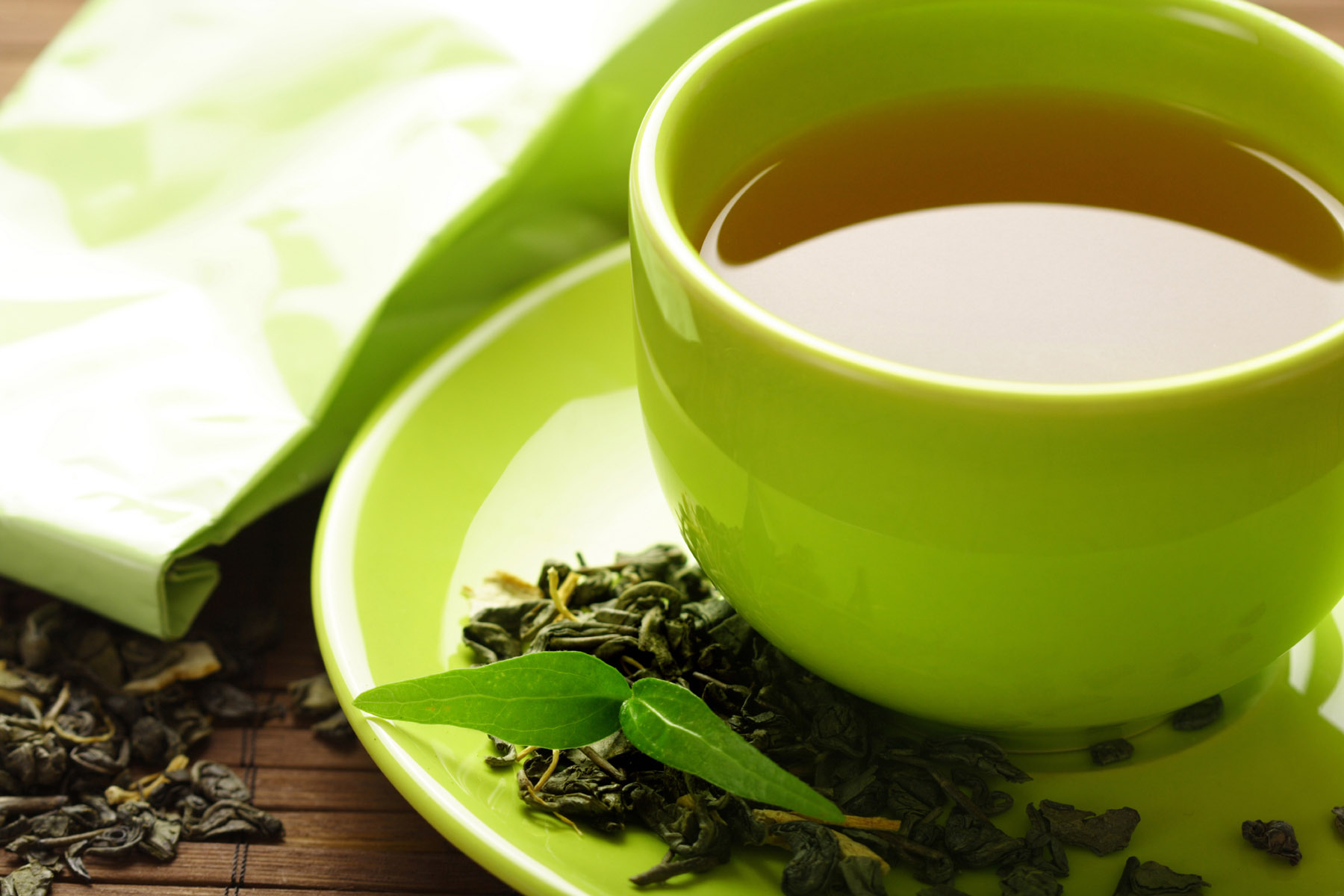 Immune Boosters – and Busters Green Tea