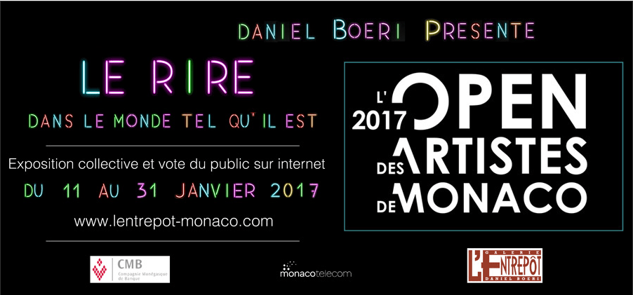 Open Contest of Monaco Artists 2017 at l'Entrepot Gallary