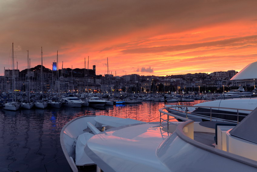 A yacht for Cannes Lions