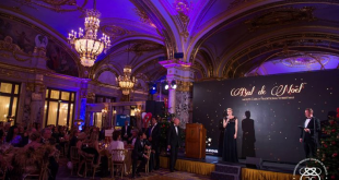 Princess Charlene at the Christmas Ball