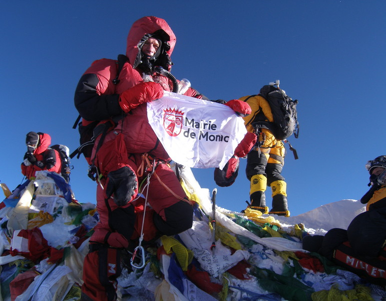 Jean-Marc Nowak on Everest's Summit 2011