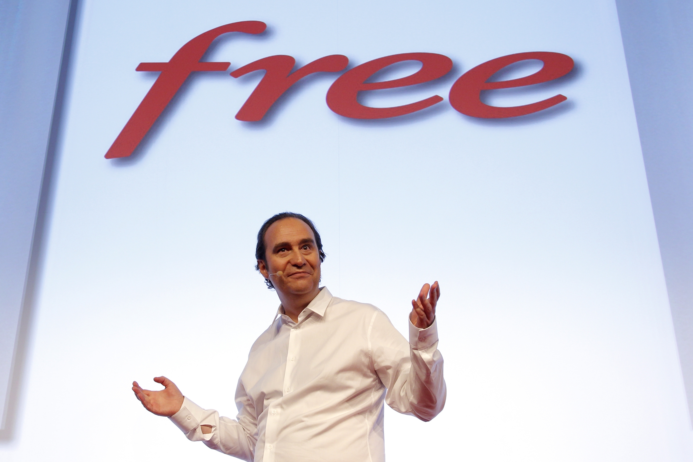 Xavier Niel, founder of French broadband Internet provider Iliad