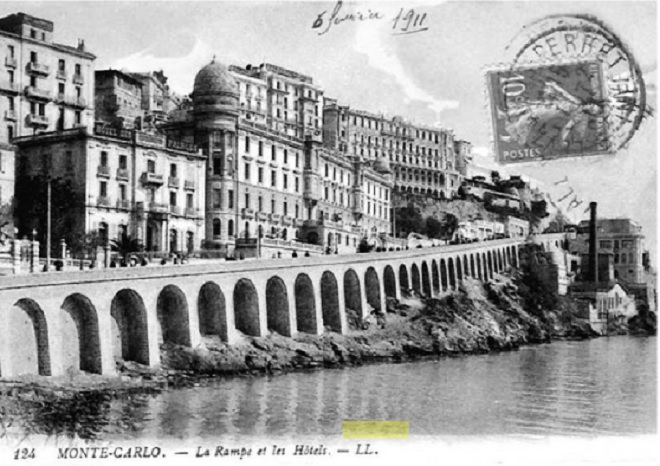 Monte-Carlo Embankment 1911