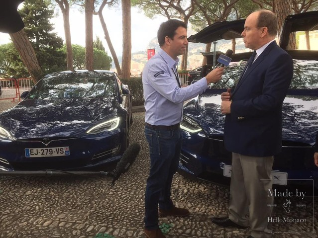 Interview with Prince Albert II at SIAM