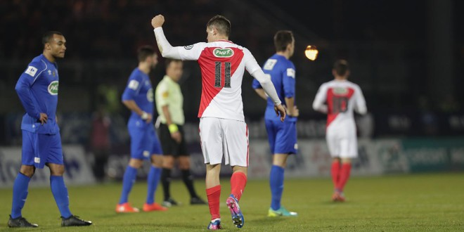 FOOTBALL : Chambly vs Monaco - Coupe de France