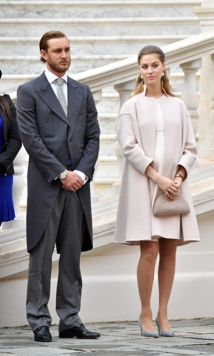 Pierre Casiraghi and Beatrice Borromeo welcomed their first child