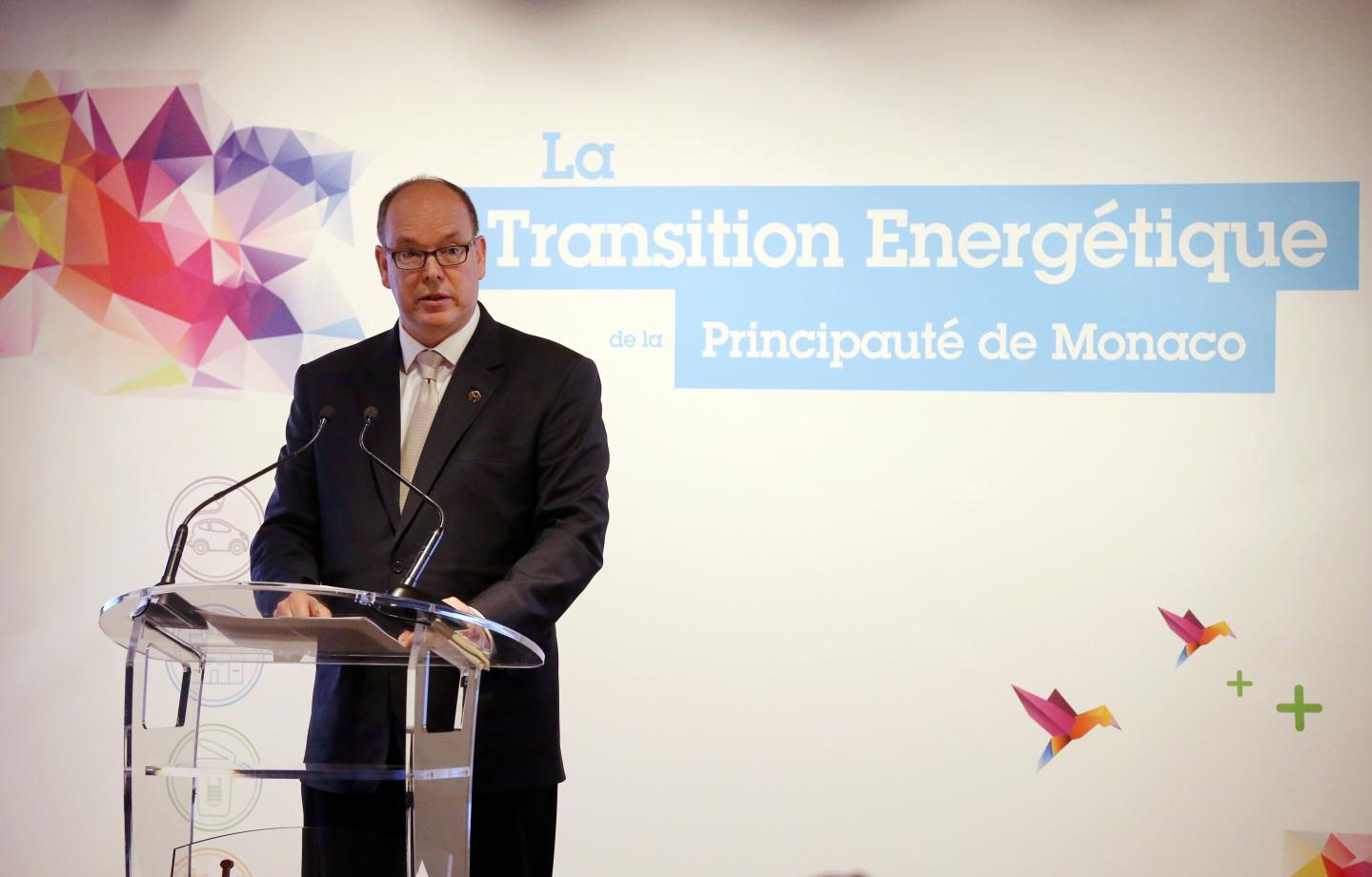Prince Albert II speaks about energy