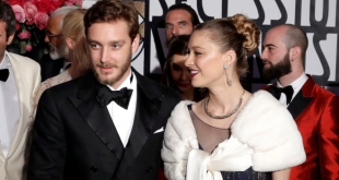 Pierre Casiraghi and Beatrice Borromeo at the Rose Ball 2017