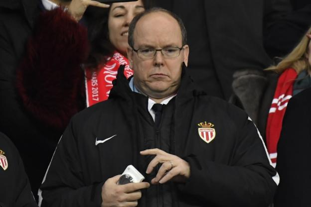 Prince Albert supports Monaco team