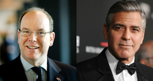 Prince Albert and George Clooney