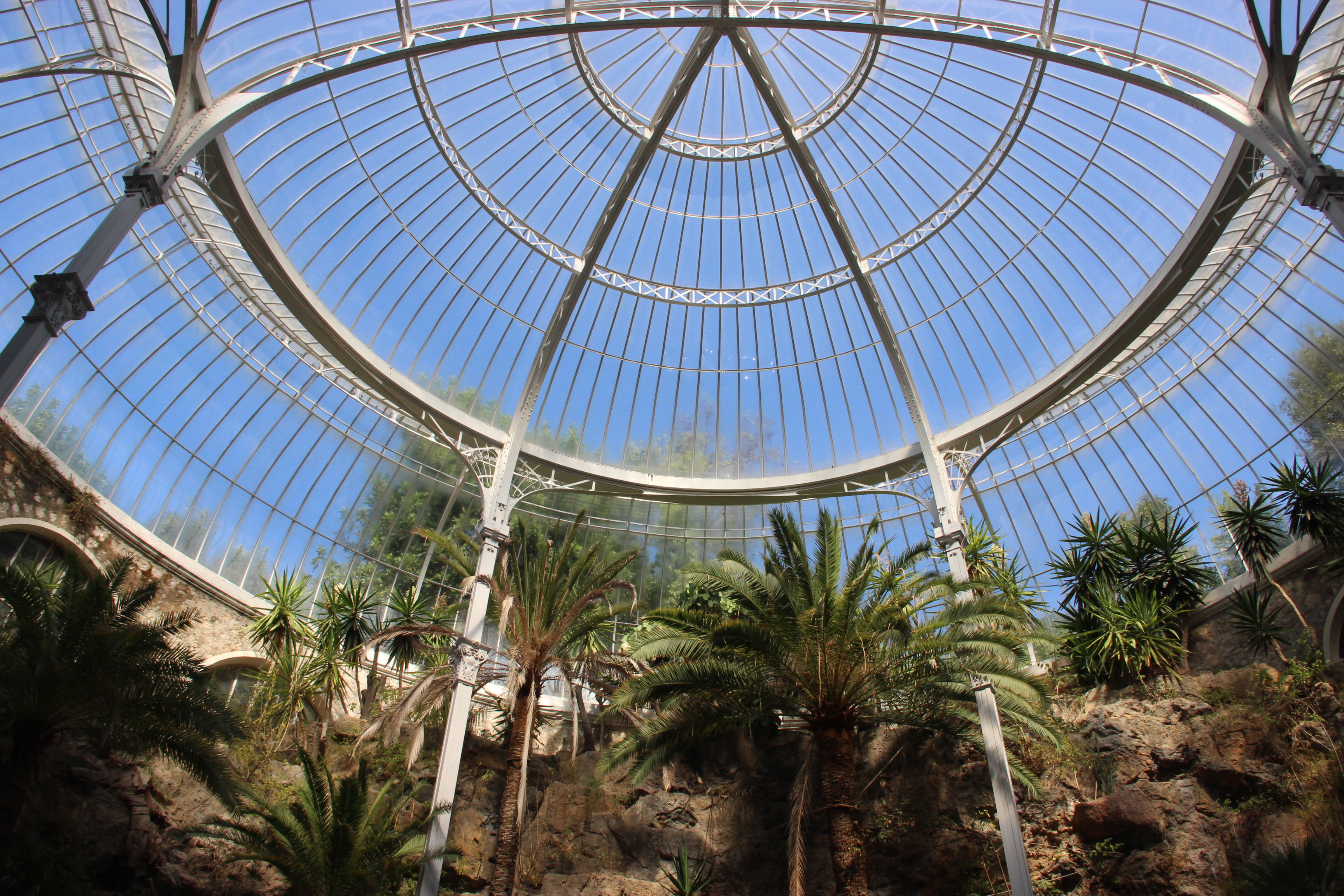The dome of the Riviera Palace orangery