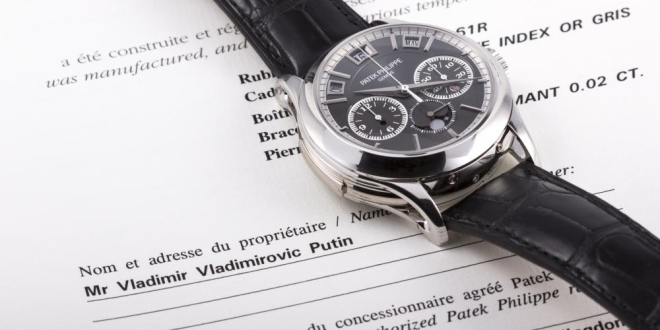 Putin's Watch Patek Philippe