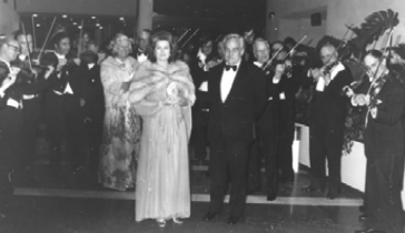 Rose Ball with HSH Prince Rainier III and Princess Grace in 1976 © Courtesy of Monte-Carlo SBM