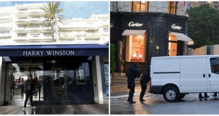 Robberies Cartier Harry Winston