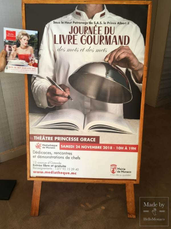 Great Chefs and Authors Inspire and Cook at Theatre Princess Grace