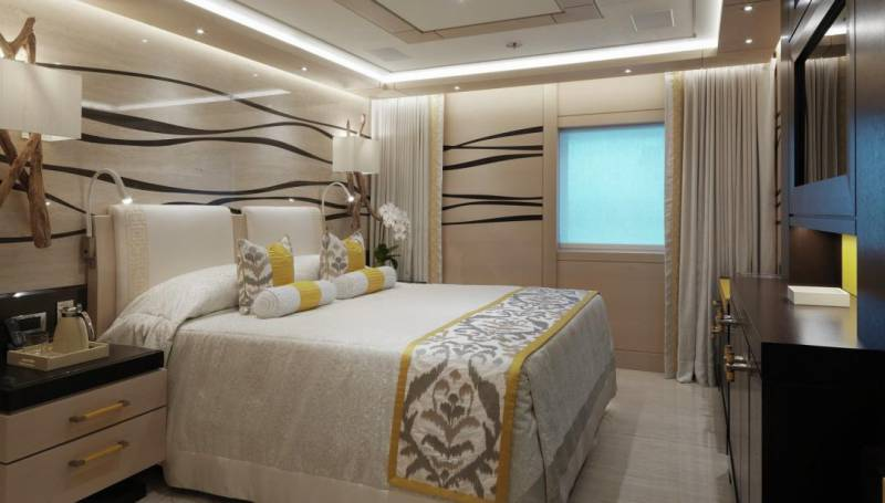 Inside the 91m yacht seized by Malaysia