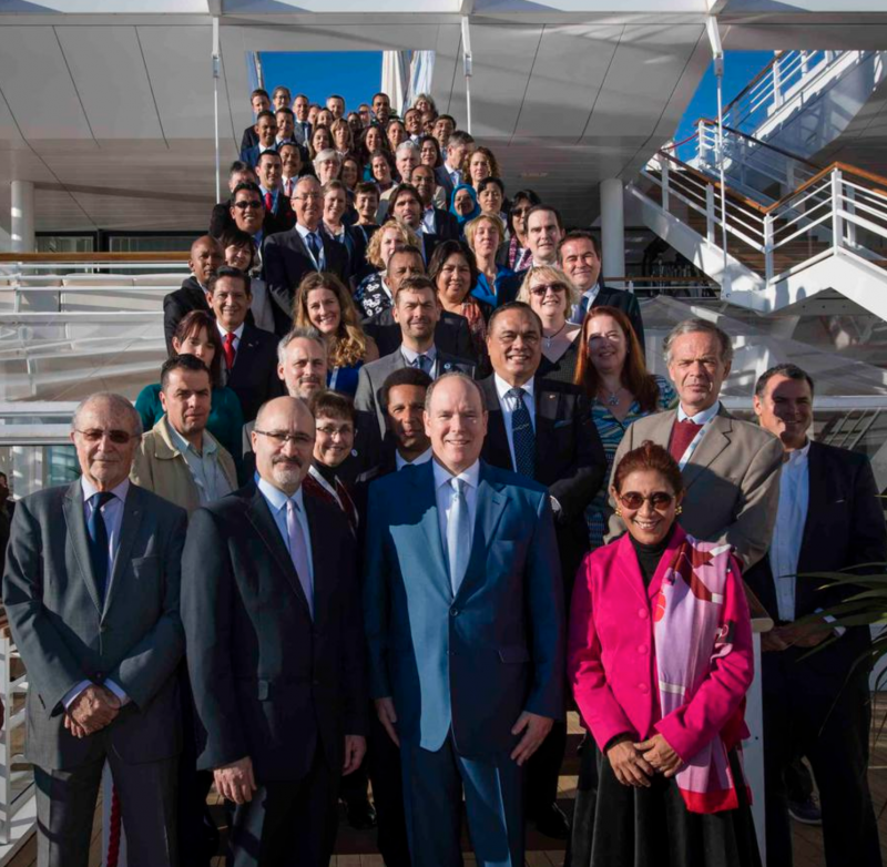 Prince Albert attends First Coral Reef Initiative General Assembly