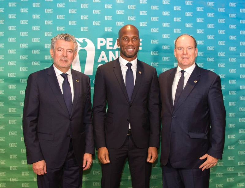 Didier Drogba named Vice President of Peace and Sport