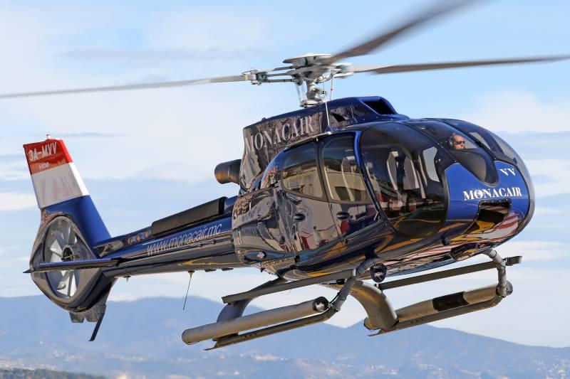 Monaco Helicopter Company Monacair Turns 30