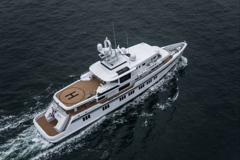 Promise Feadship's first ice-classed yacht delivered
