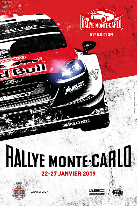 87th Monte-Carlo Rally