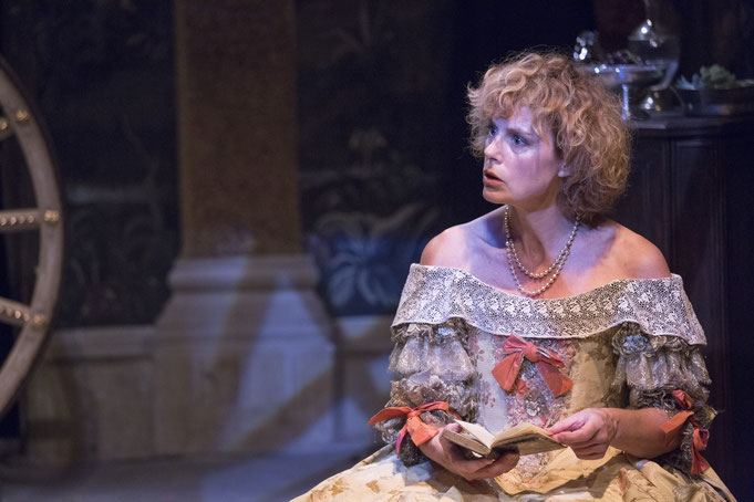 """""""Madame Fouquet"""", a historical play with Anne Richard"""