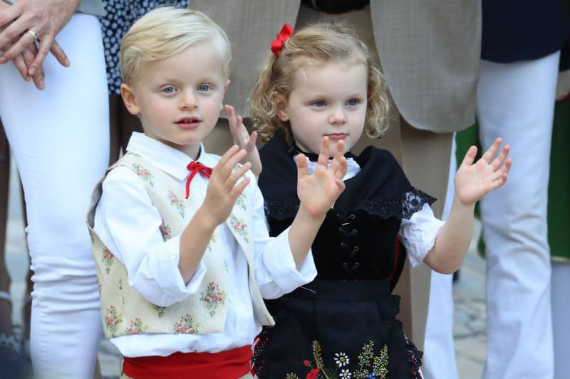 Prince Jacques and Princess Gabriella