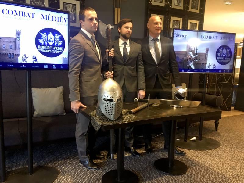 Medieval Buhurt Prime Tournament kicks off in Monaco