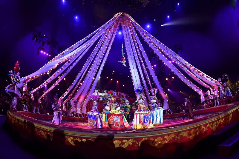 Opening performance of the 43rd International Circus Festival of Monte Carlo